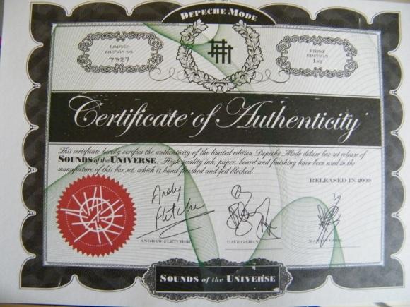 Le firme di Gahan e Gore: il male dentro.