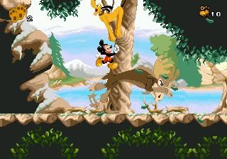 Mickey Mania Pollo
