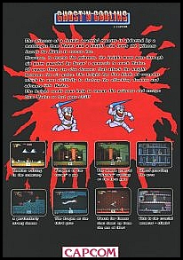 ghosts and goblins flyer